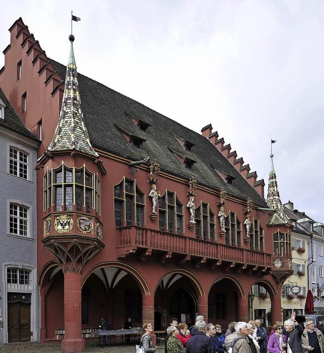Eines der Denkmäler, das am Samstag be...werden kann: das Historische Kaufhaus   | Foto:  Thomas Kunz