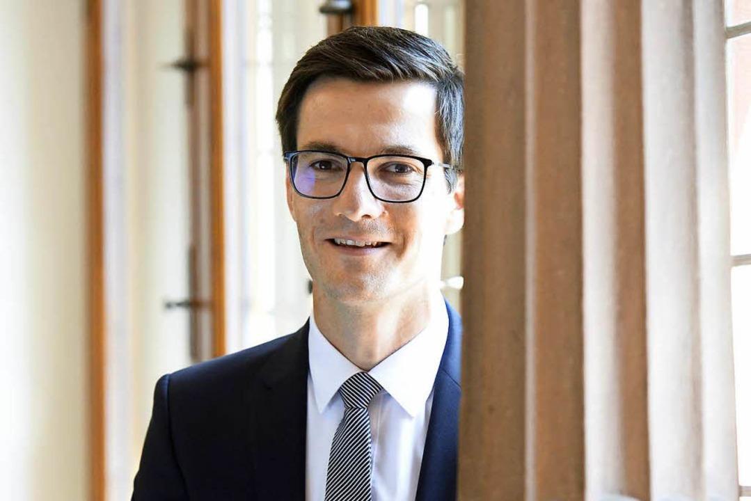 Martin Horn ist seit Juli Oberbürgermeister von Freiburg.  | Foto: Ingo Schneider