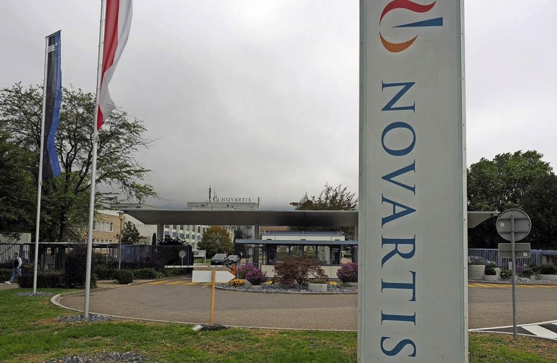 Im Novartis-Werk in Stein möchte der P... 450 weitere Stellen mit sich bringen.  | Foto:  Hans Christof Wagner