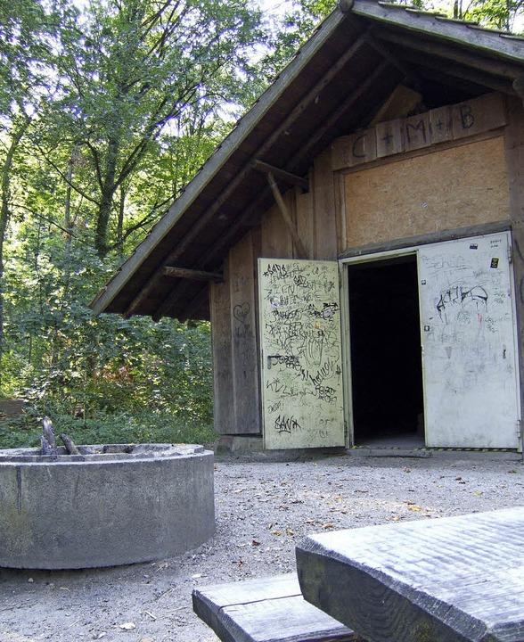 Schlicht, aber naturverbunden: Die Eschwaldhütte  | Foto: Susanne Müller