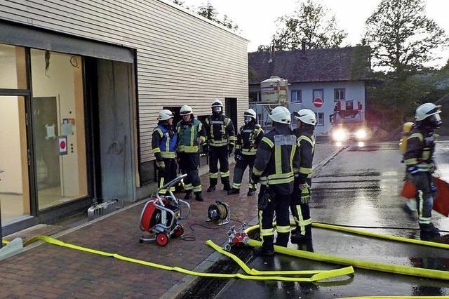 Feuerwehr muss gleich zweimal raus