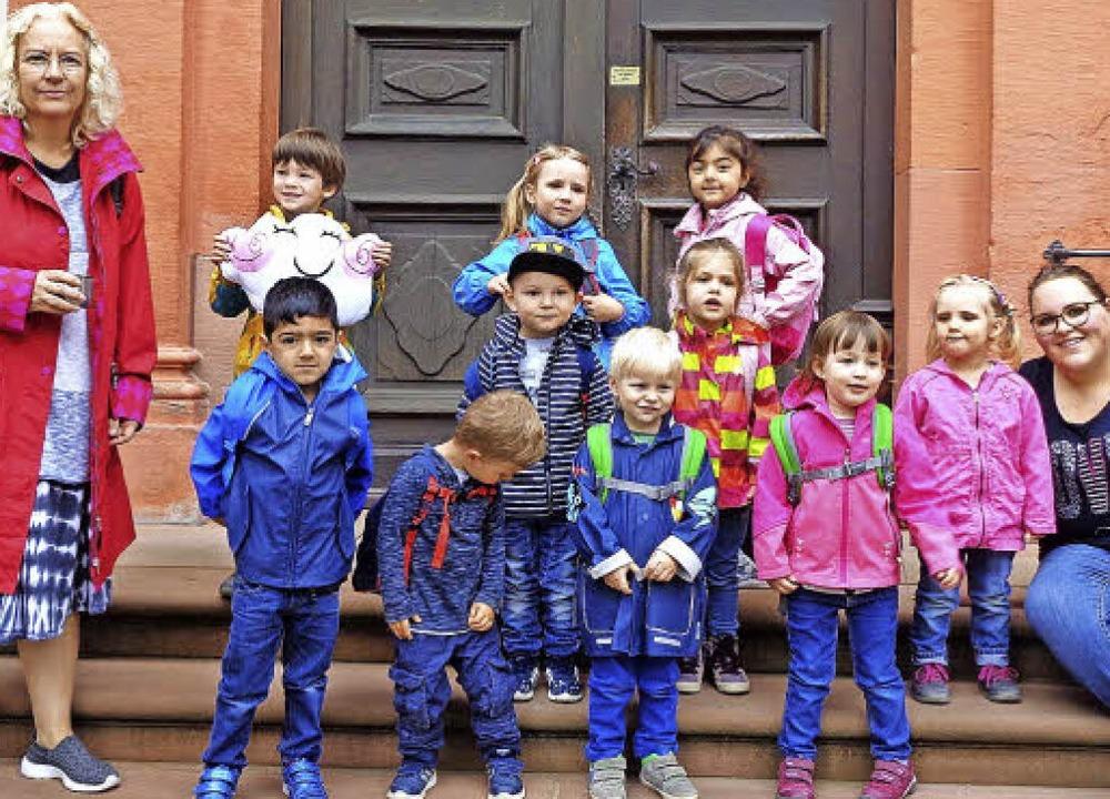 Die Kindergärten St. Carolus am Wald u...ernten ihre Heimat noch besser kennen.  | Foto: Kitas