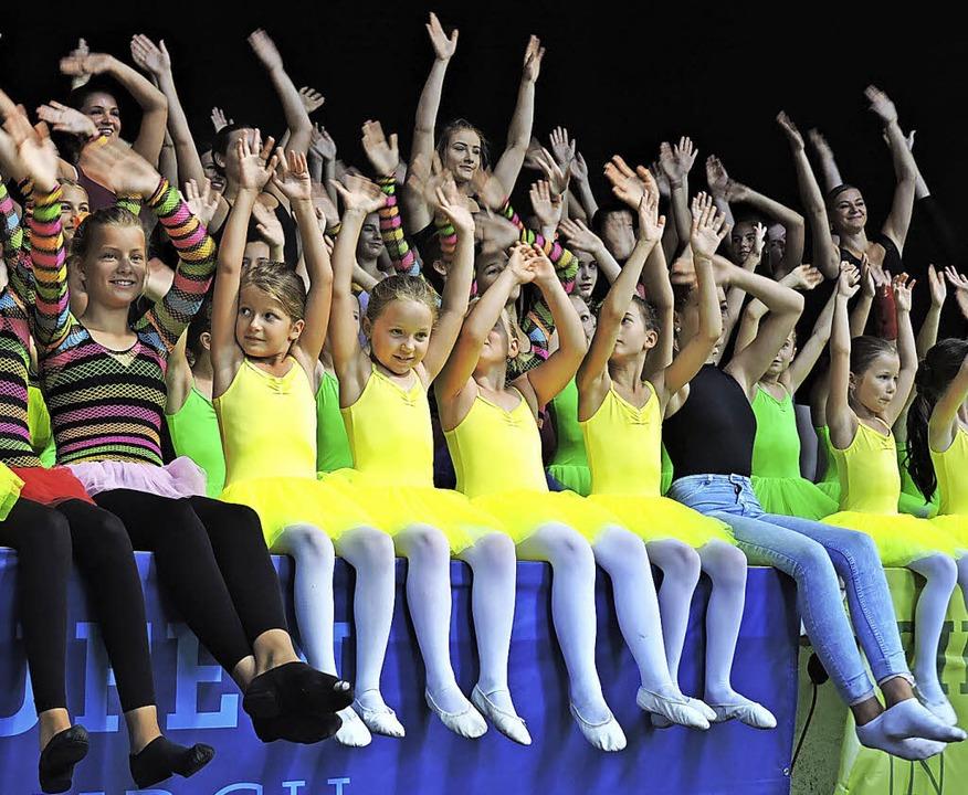 Waldkircher  Kindertag 2016, Kinder vom Ballettstudio Ute Anna.   | Foto: Sre