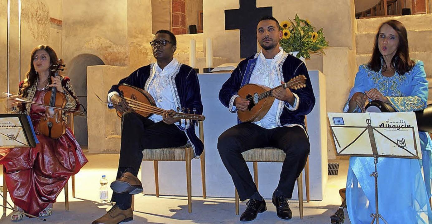 Das Ensemble Albaycín in der Sulzburger Kirche St. Cyriak   | Foto: Franzen