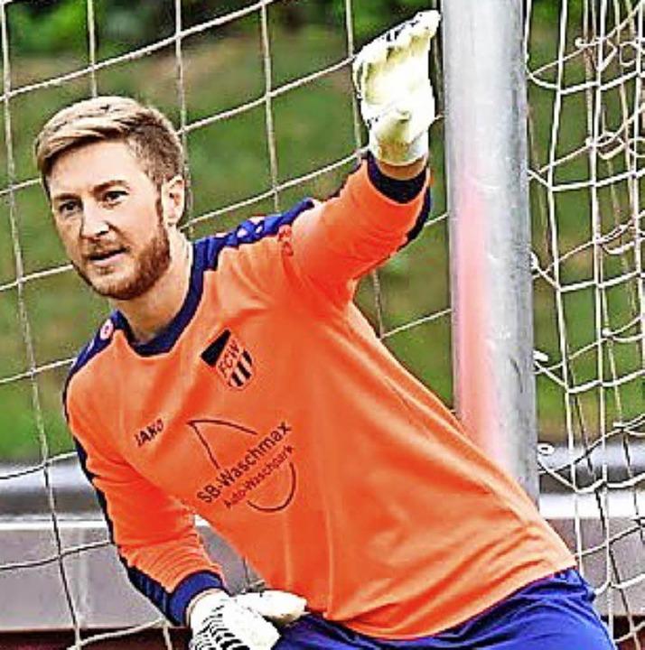 Nur beim Elfmeter machtlos: FCW-Keeper Lukas Lindl   | Foto: Keller