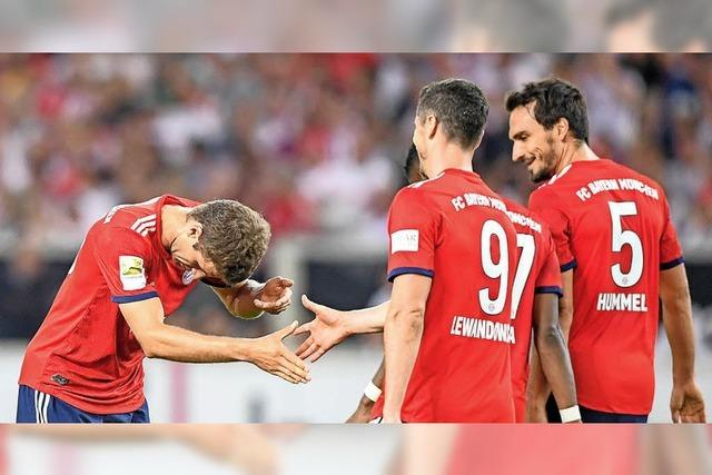 Die Bayern, wer sonst