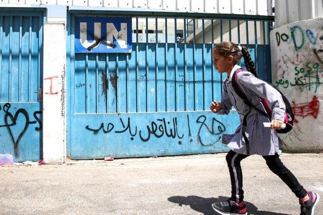USA steigen bei Hilfe für Palästinenser aus