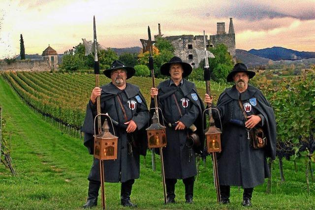 Weinfest in der Burkheimer Mittelstadt