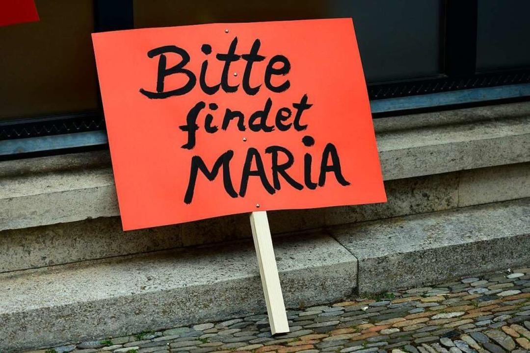 Bei der Suche nach Maria bekam die Fam...chkeit in Freiburg und darüber hinaus.  | Foto: Ingo Schneider