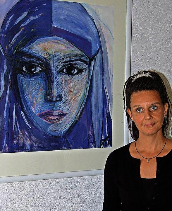 Yvonne Gukelberger-Seele im Kurhaus Freiamt  | Foto: Christian Ringwald