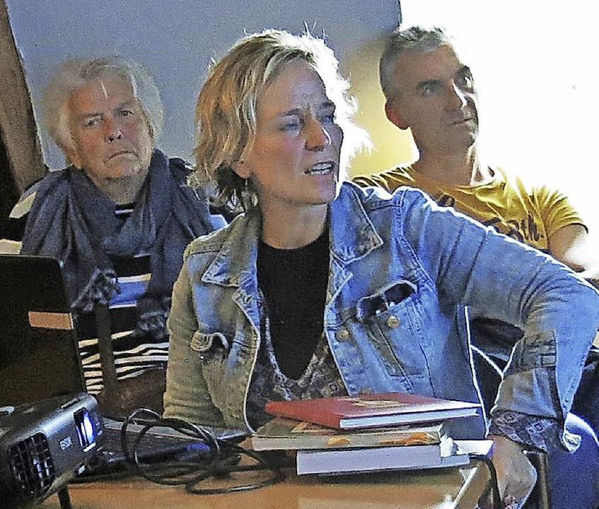 Vortrag von Monika Rachel Raija Miklis über Storytelling in der jüdischen Kunst    Foto: Georg Voß