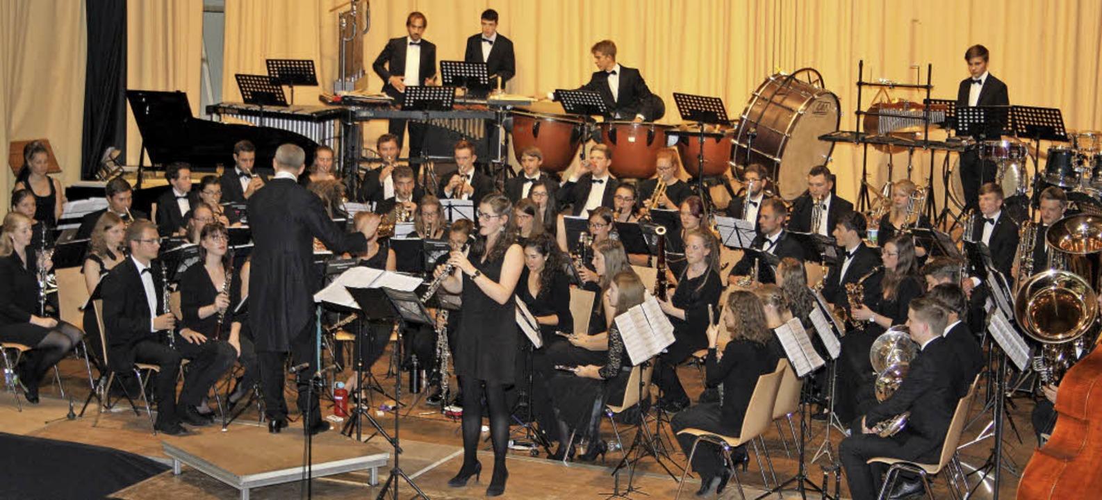 Das Verbandsjugendorchester mit Solist...al mehr ein  herausragendes Konzert.    | Foto: Andreas  Böhm