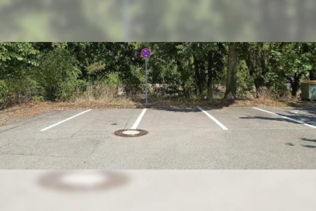 Parkplätze mit eingebautem Halteverbot?