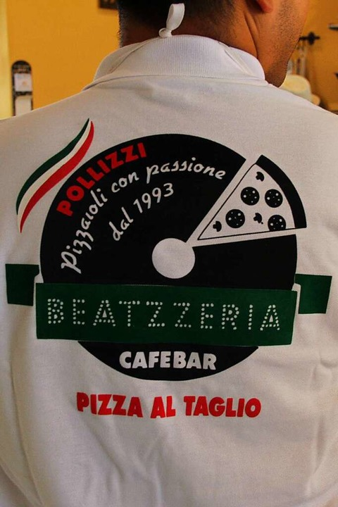 "Benjamino (28) ist ""Pizzaioli co...0;, also Pizzabäcker aus Leidenschaft.  | Foto: Carla Bihl"