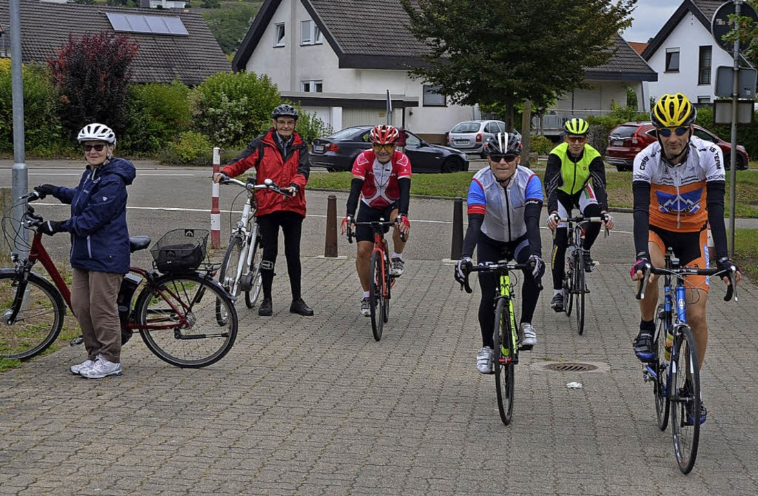 Gemütlich oder ambitioniert? Bei der K...rg-Radtour war für jeden etwas dabei.   | Foto: Jörg Schimanski