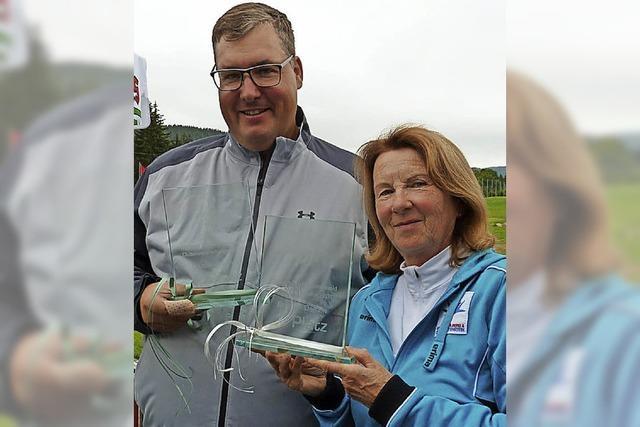 Hüter und Simoneit holen die Golf-Titel