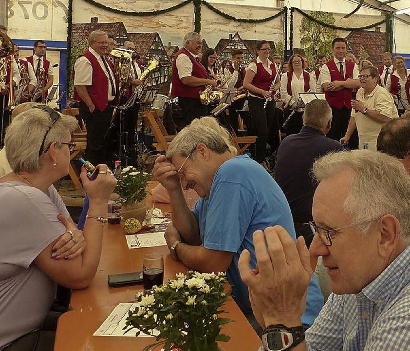 Zu Gast in Altenheim:  der Musikverein Dinglingen  | Foto: Dieter Fink
