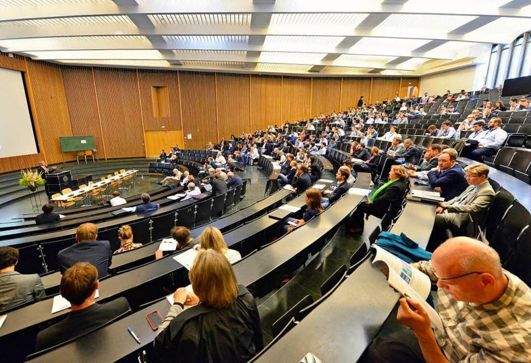 Die Tagung des Vereins für Socialpolit...Mittwoch in der Freiburger Uni  statt.  | Foto: Michael Bamberger