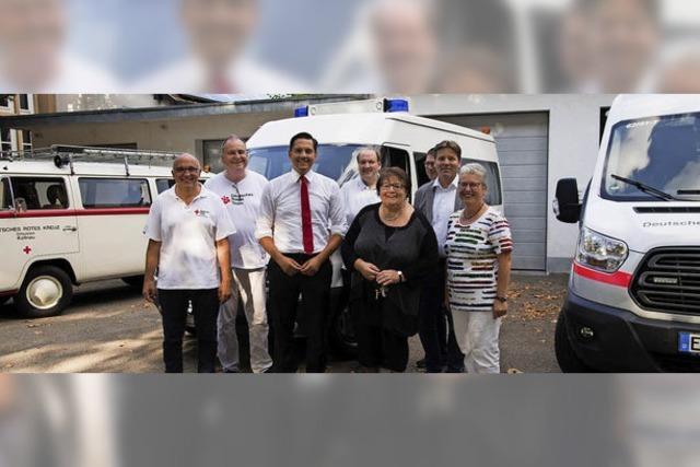 Abgeordneter zollt Respekt für die DRK-Ortsvereine