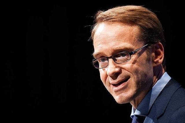 Bundesbankchef Weidmann fordert schnelles Internet für mehr Haushalte und