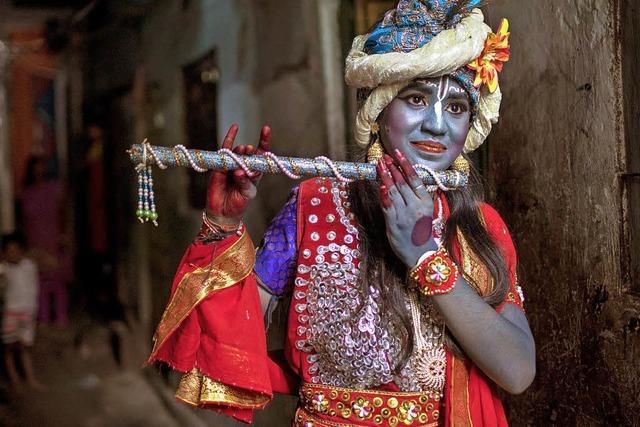 Janmashtami-Fest in Bangladesch
