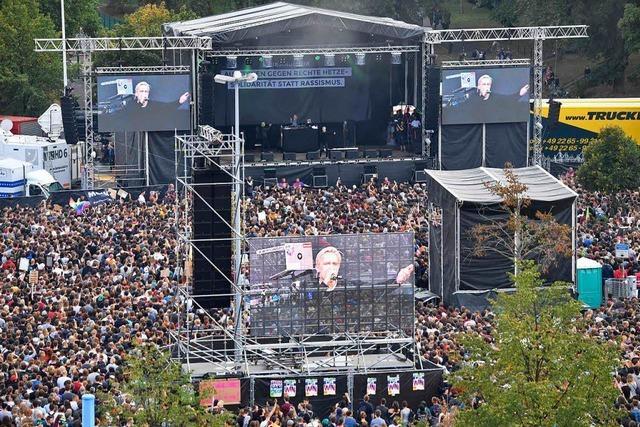 65 000 bei Konzert gegen Rassismus in Chemnitz – aber wie geht's jetzt weiter?