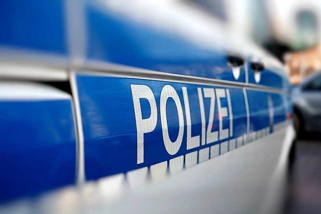 Mann in Lörrach entfernt Zulassungsstempel von Kennzeichen