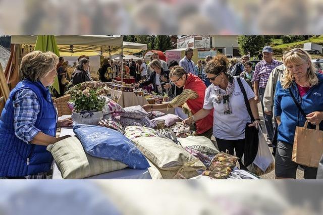 Brunnenfest, Naturparkmarkt, verkaufsoffener Sonntag in Lenzkirch