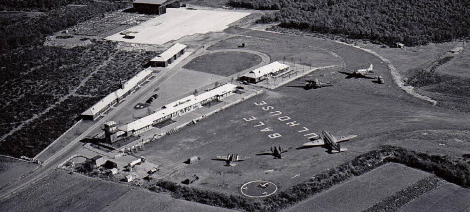 Der Euroairport 1948   | Foto: Archivbild: Euroairport