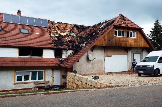 400.000 Euro Schaden nach Brand: Gemeinde will Familie helfen