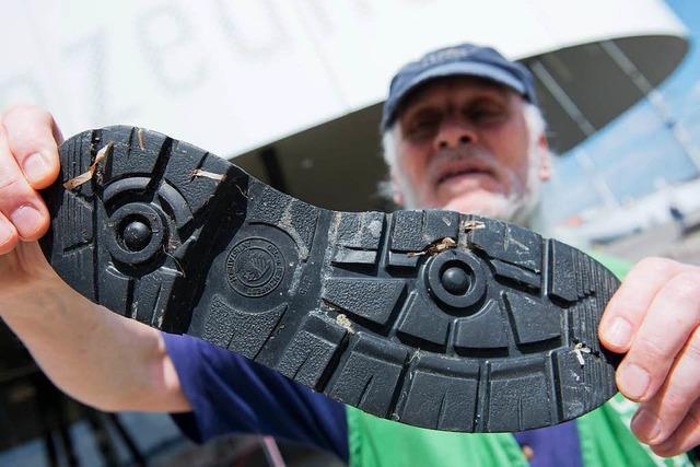 Abrieb von Reifen und Schuhsohlen schadet der Umwelt