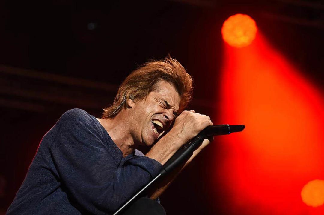 Campino beim Konzert in Chemnitz  | Foto: dpa