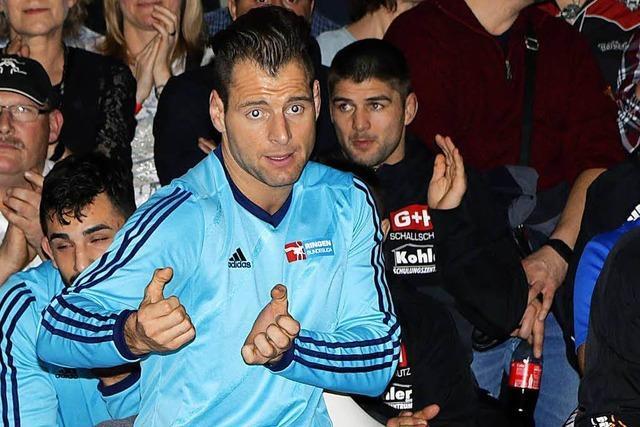 Adelhausens Trainer Florian Philipp: