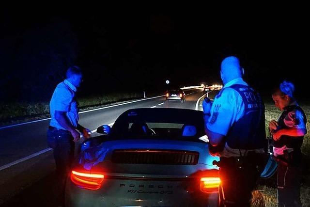 Was zwei Polizisten aus Breisach bei ihrer nächtlichen Streife erleben