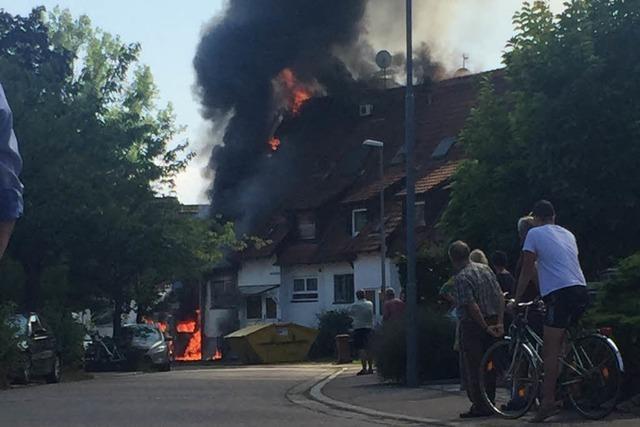 Wohnhaus in Waltershofen nach Brand unbewohnbar – keine Verletzten