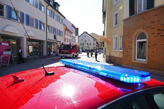 Aufregung in Schopfheim – aber doch kein Gasaustritt