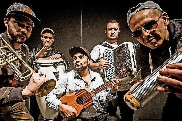 Sido Wacho. Cumbia Electro, Hiphop und Latin. Am 14. September im Meck in Frick/Schweiz.