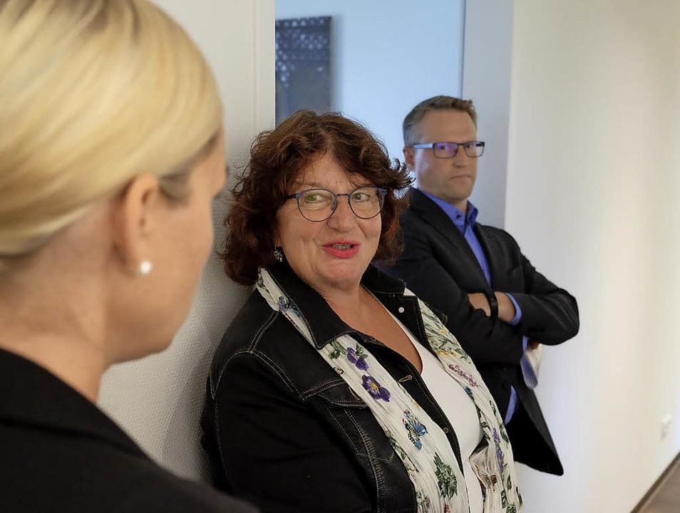 Grünen-Staatssekretärin Bärbl Mielich ...ens Bürgermeister Johannes Ackermann.   | Foto: Martin Pfefferle
