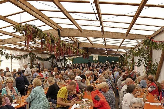 Dorffest in Offnadingen