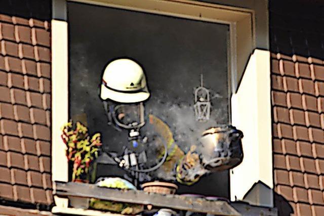 Feuerwehr rückt wegen Rauch aus