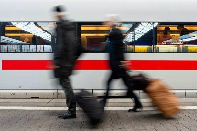Weniger Reisebüros verkaufen Bahntickets