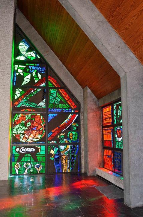 Eines der schützenswerten Fenster von Emil Wachter (Archivbild)  | Foto: Nikolaus Trenz