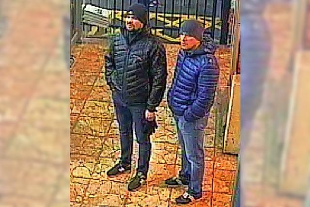 Kurz nach dem Anschlag flogen sie nach Moskau