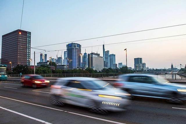 Auf Frankfurt kommt ein Dieselfahrverbot zu