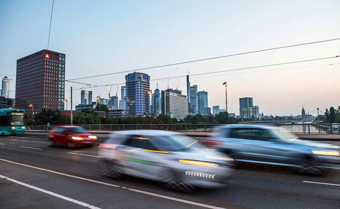 Das Dieselfahrverbot in Frankfurt kommt.  | Foto: dpa