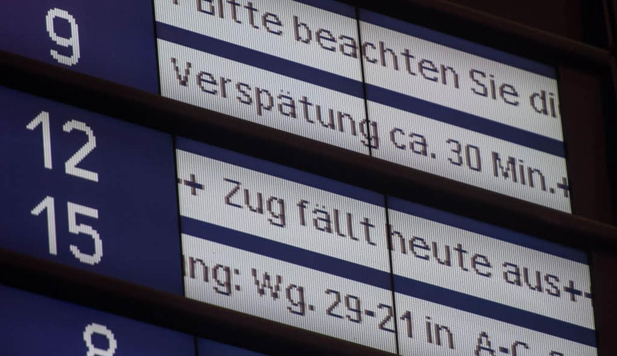 Was ist ein Fahrplan?  | Foto: dpa