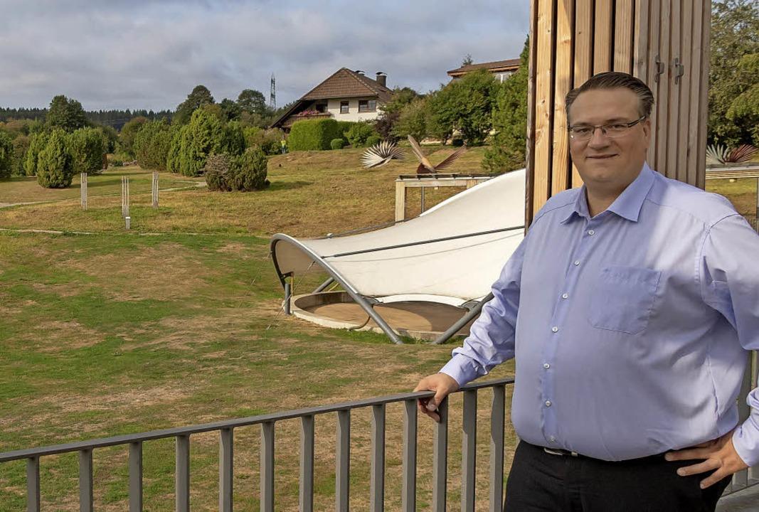 Mario Isele will Bürgermeister von Gra...gegen den amtierenden Rathauschef an.   | Foto: Wilfried Dieckmann