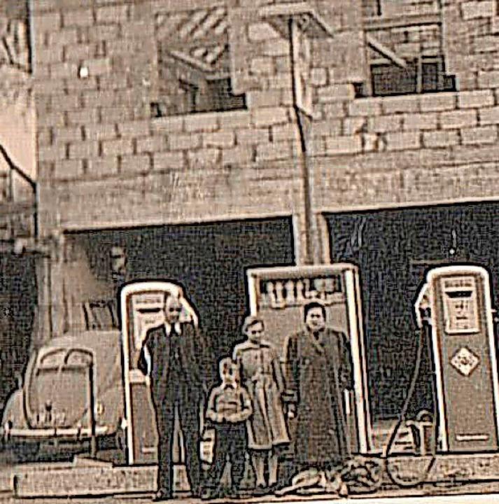 In den 1960er Jahren gab es in Egginge...ie noch heute ein  Autohaus betreibt.   | Foto: Bölle