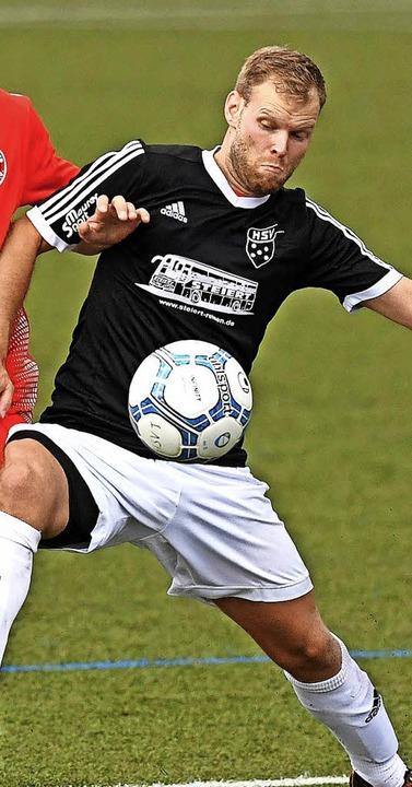 Heiß auf den ersten Dreier ist Spielertrainer Kay Ruf vom SV Hinterzarten.   | Foto: scheu