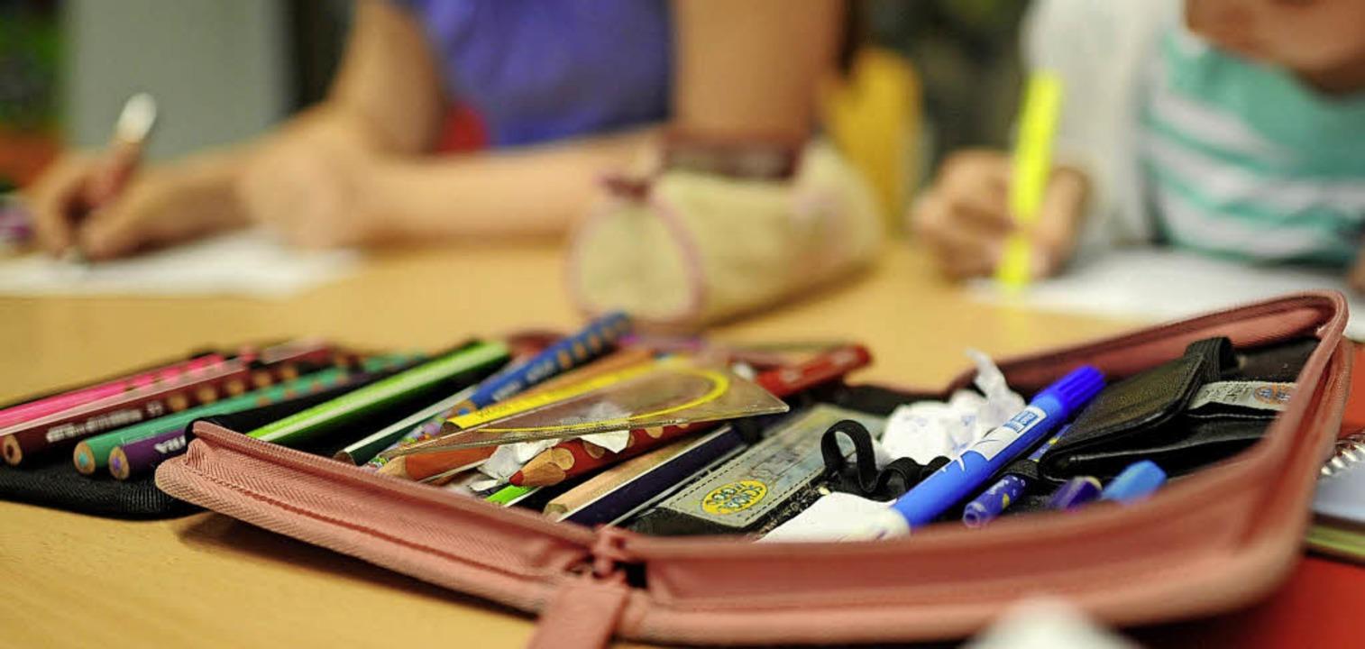 Kommenden Montag ist Schulbeginn &#821...n Glottertal geht's wieder los.     Foto: dpa